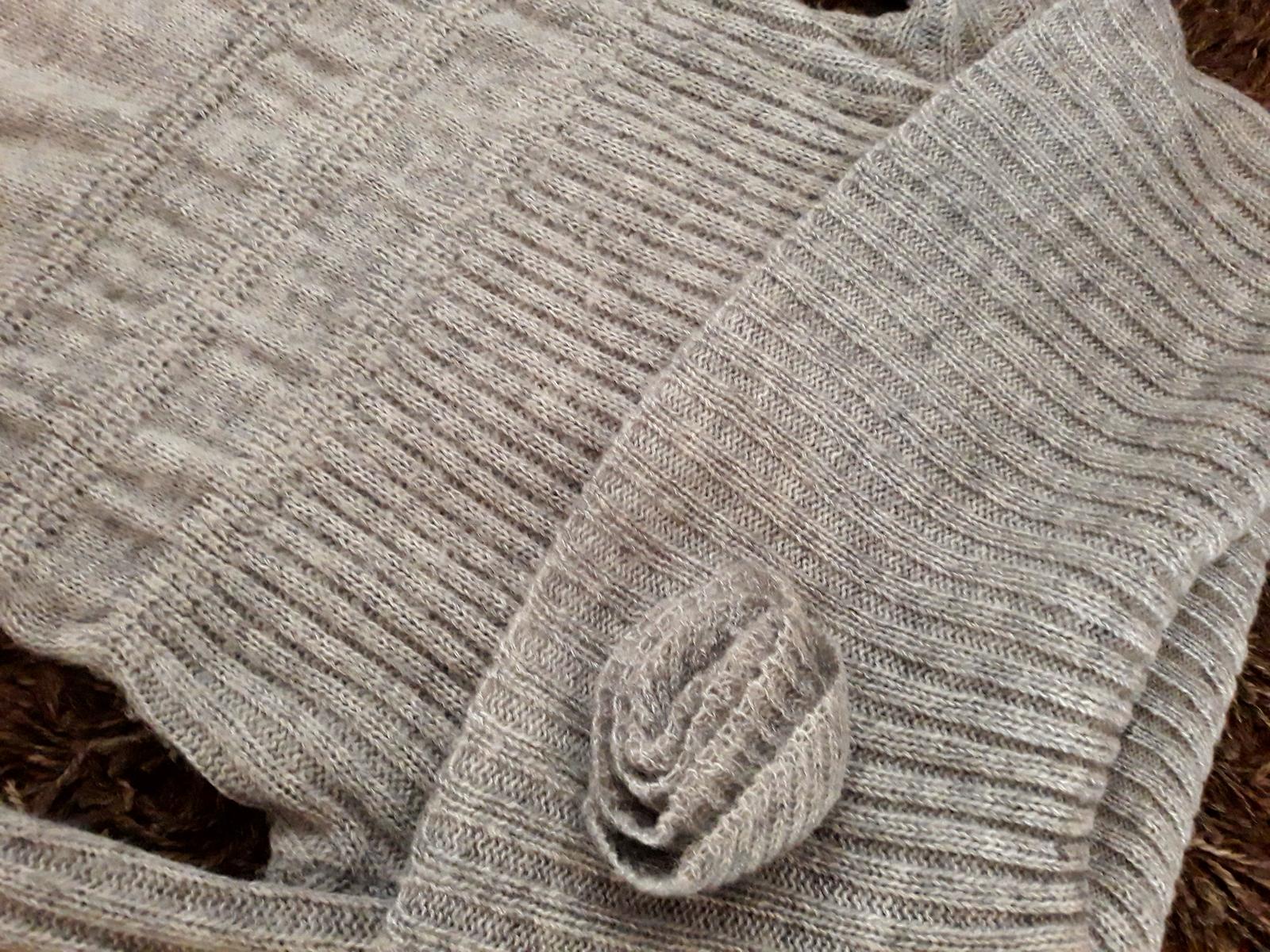 Pletené šaty Oodji - Obrázok č. 3