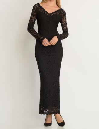 Dlhé čipkované šaty Orsay - Obrázok č. 1