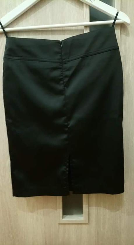 Midi sukňa elegantna  - Obrázok č. 2