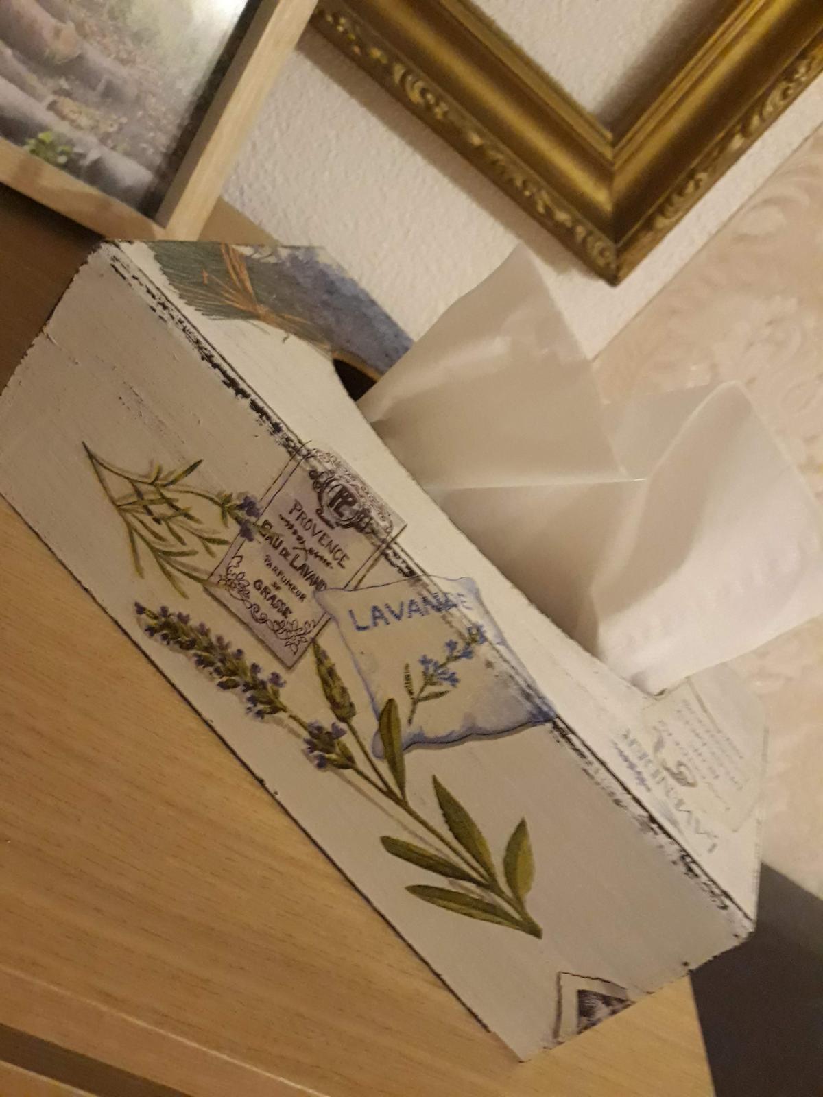 Krabica na vreckovky - Obrázok č. 1