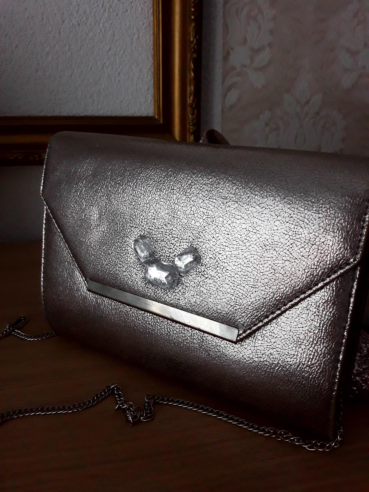 Strieborná kabelka Six - Obrázok č. 2