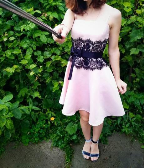 krátke spoločenské šaty - Obrázok č. 1