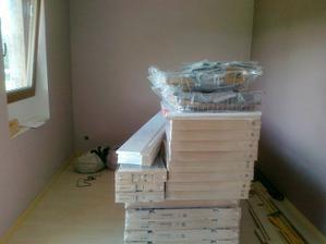 Naše kuchyně v ložnici :-))