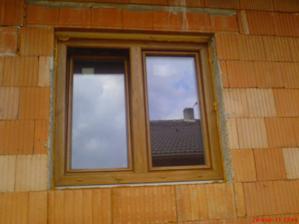 Okna v oboustranném dekoru winchestr