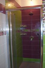 Sprchový kút v kúpelke...
