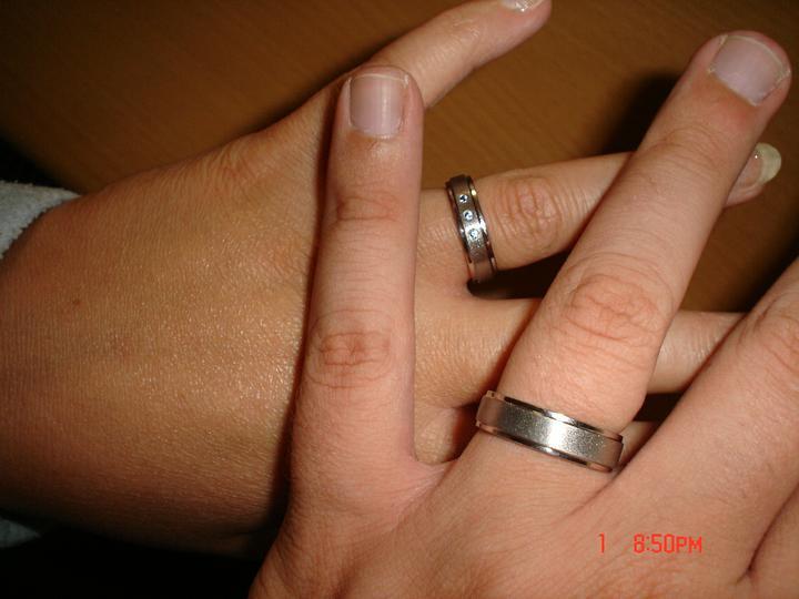 Svatební přípravy , 3.9. 2011 - zámek Hořovice - ještě jedna s prstýnkama