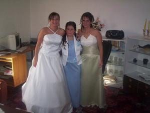spolu s mojou sestrou Melankou a jej dcérou Dominikou