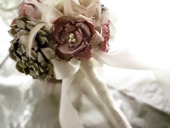 Svadobné kytice inak - Obrázok č. 24