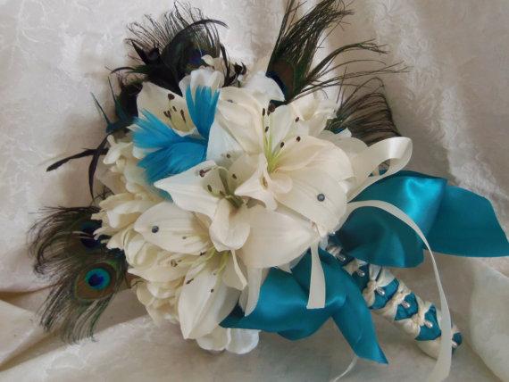 Svadobné kytice inak - Obrázok č. 26