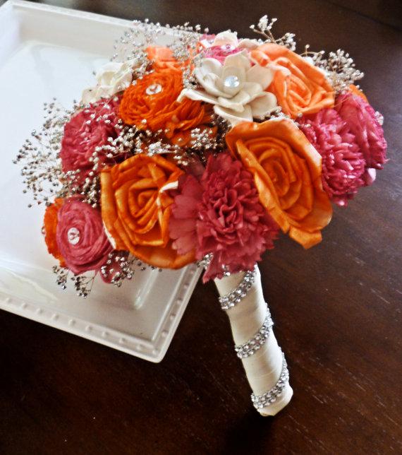 Svadobné kytice inak - Obrázok č. 40
