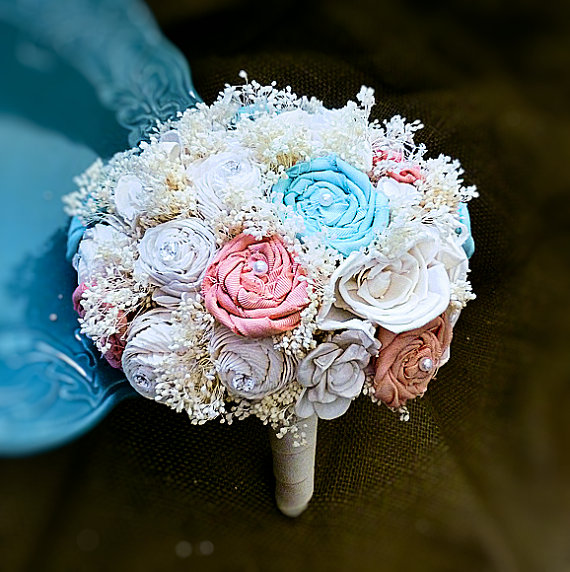 Svadobné kytice inak - Obrázok č. 58