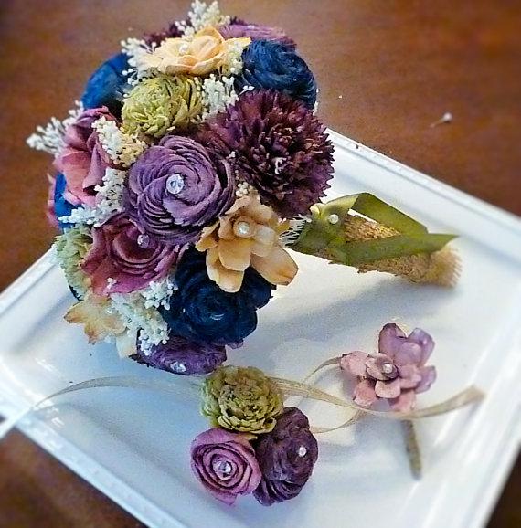 Svadobné kytice inak - Obrázok č. 60