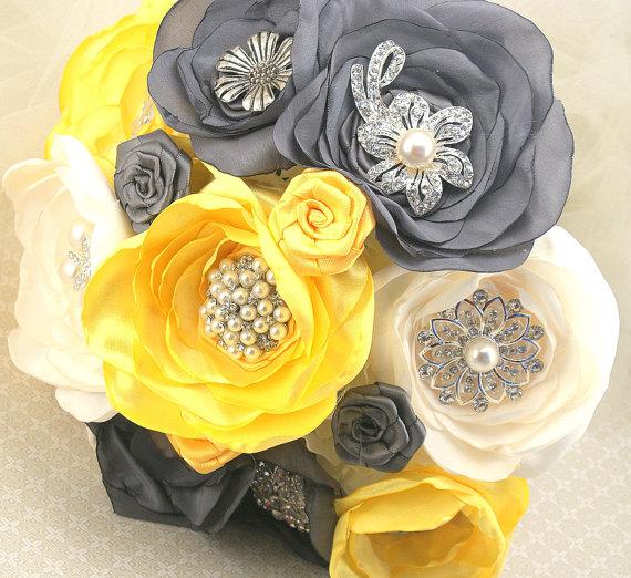 Svadobné kytice inak - Obrázok č. 64