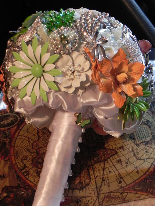 Svadobné kytice inak - Obrázok č. 67