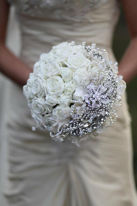 Svadobné kytice inak - Obrázok č. 69