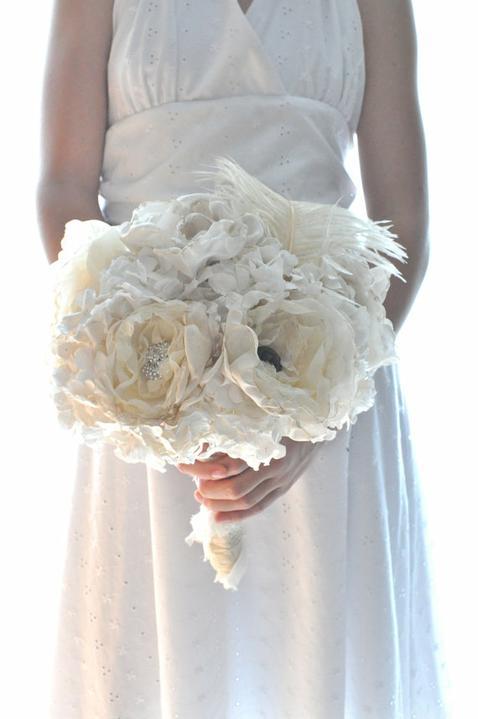 Svadobné kytice inak - Obrázok č. 77