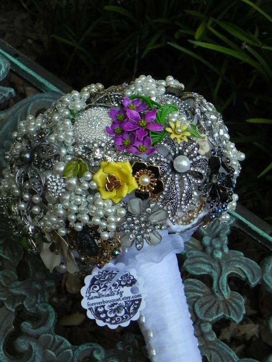 Svadobné kytice inak - Obrázok č. 86