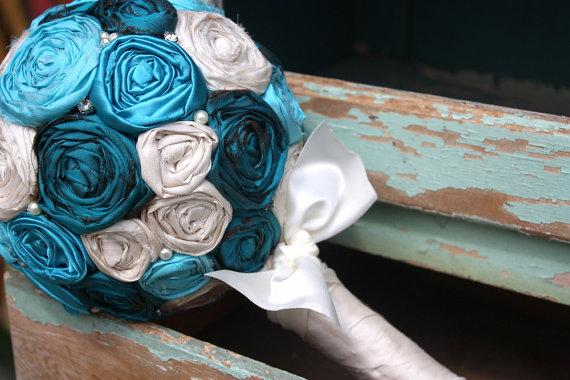 Svadobné kytice inak - Obrázok č. 87