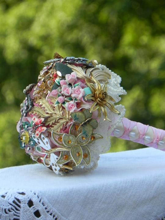 Svadobné kytice inak - Obrázok č. 93