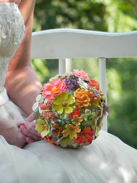 Svadobné kytice inak - Obrázok č. 96