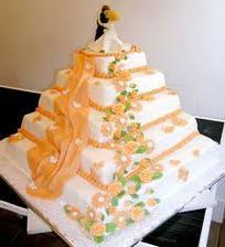 Svadobná tortička 1