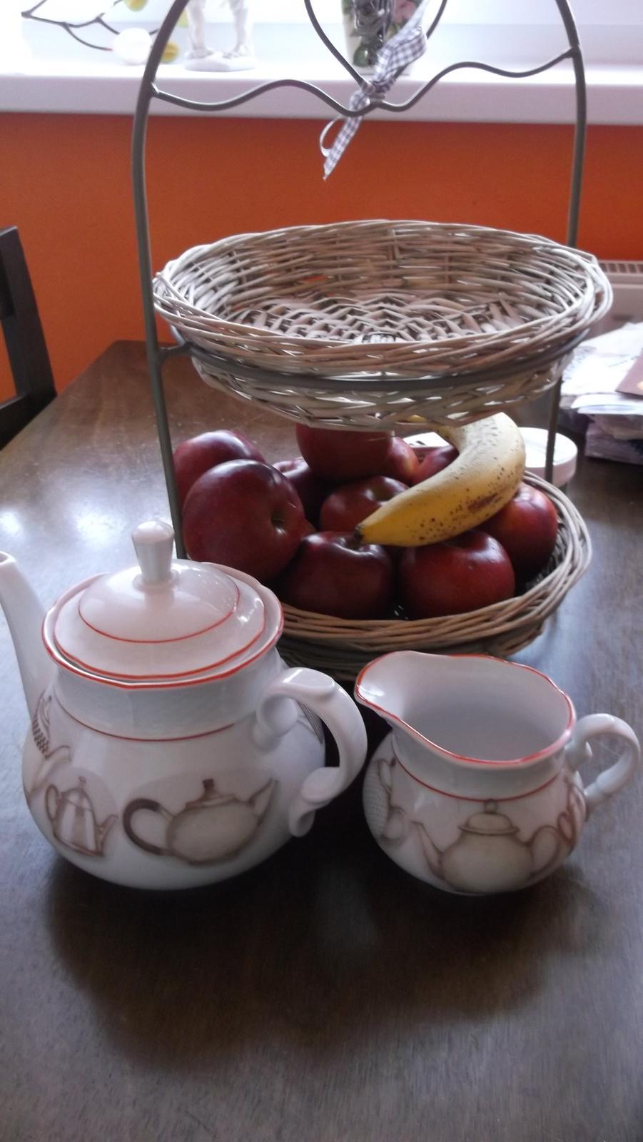 čajníčková sada - Obrázok č. 1