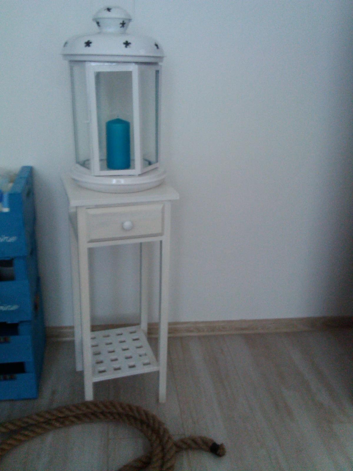 stolík so šuplíkom a odkladacou poličkou  - Obrázok č. 1