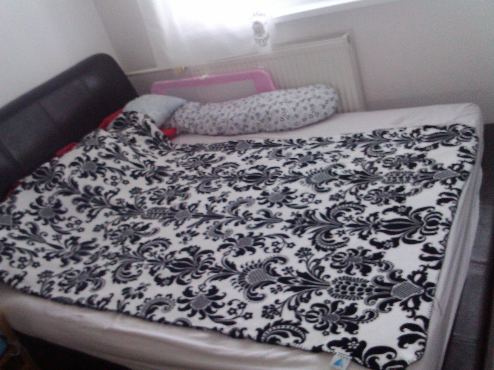 kožená postel 160x200 - Obrázok č. 1