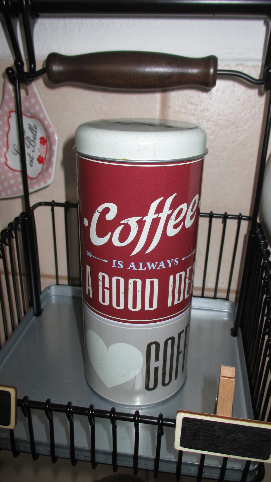 dóza coffee - Obrázok č. 1