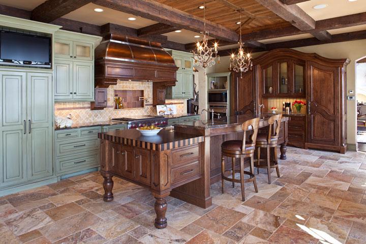 Rustikàlna kuchyňa, to je teplo domova - Obrázok č. 24