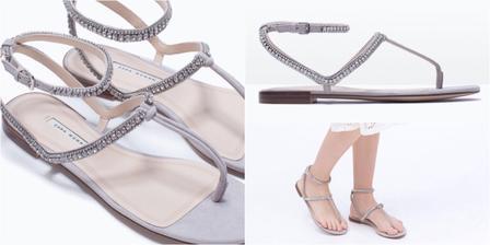 Nevestinky sandale... Zara...