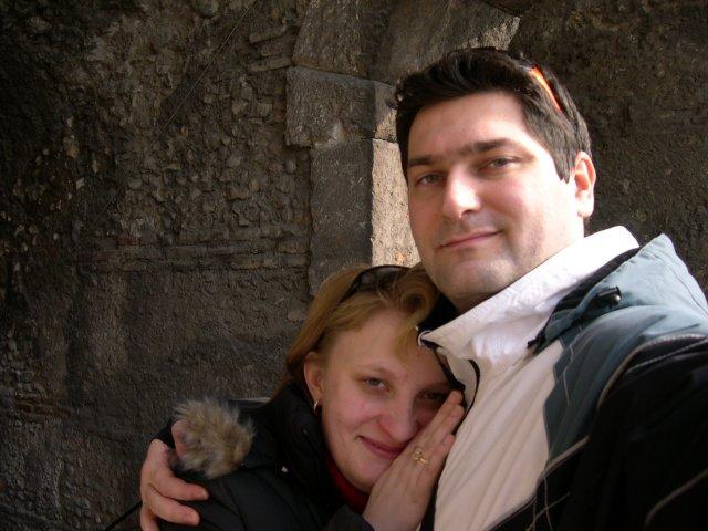 Lucia a Olivier - Ľúbime sa ako Rómeo a Júlia, Verona 2007