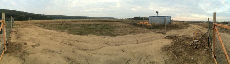 Náš pozemok 23 x 30m