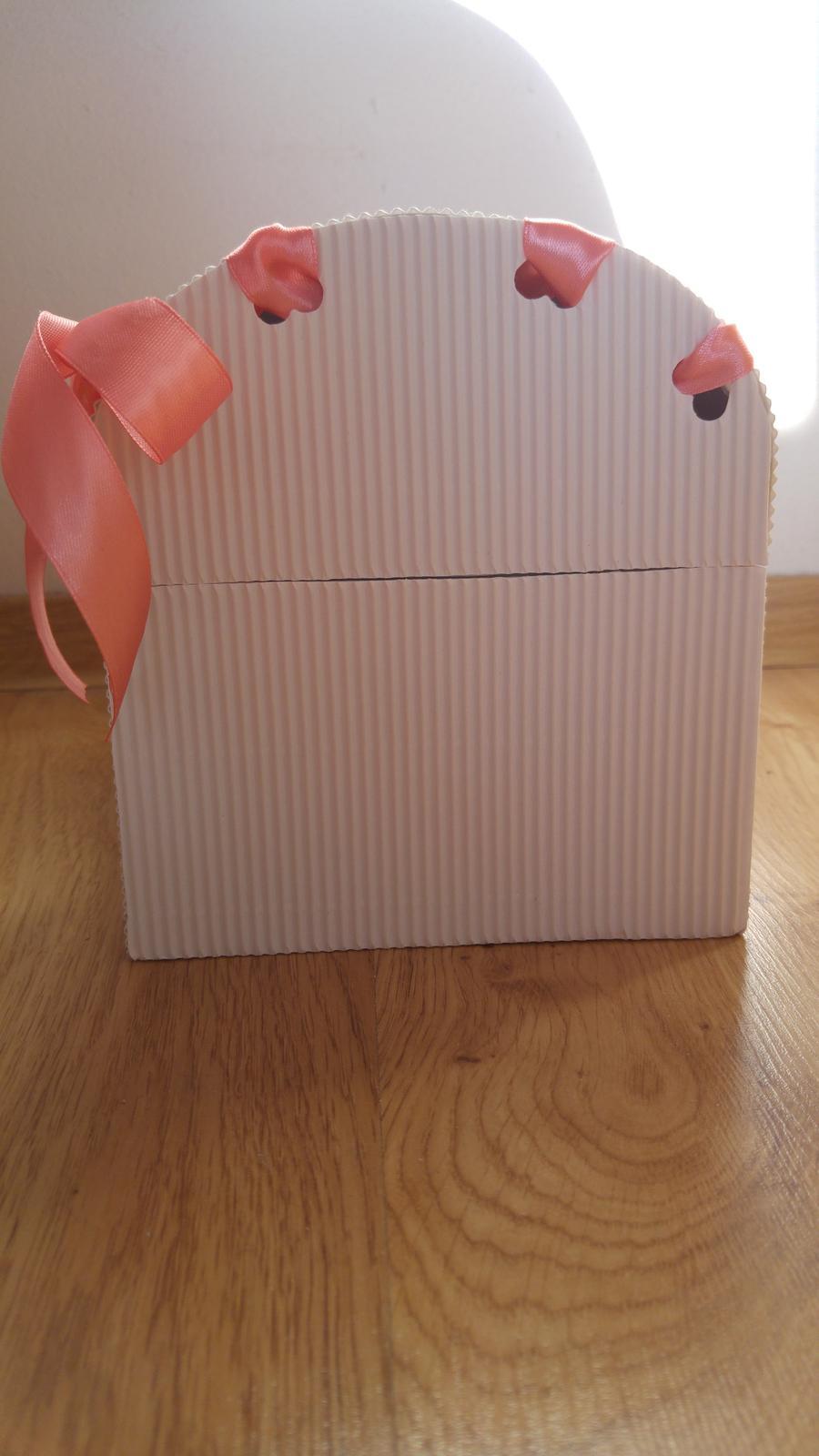 Svadobna pokladnicka s maslickami - Obrázok č. 3
