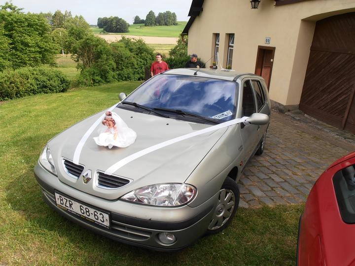 Amaterské fotky z naší svatby :-) - auto pro nevěstu....