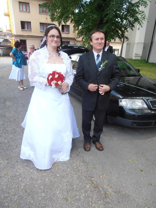 Amaterské fotky z naší svatby :-) - Obrázek č. 49