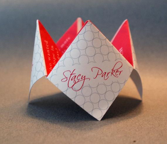Dekorácie - origami - Origami Fortune Tellers