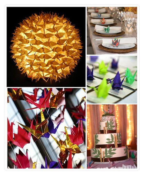 Dekorácie - origami - Obrázok č. 35