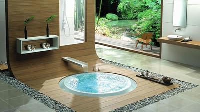 Keď vyrastiem a budem veľmi bohatá, tak si jednu z mojích kúpeľní takto zariadim. :-D