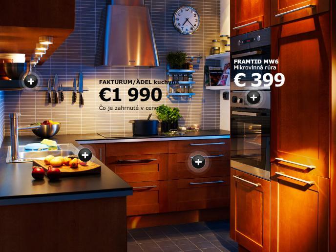 Kuchyňa - Pekné skrinky