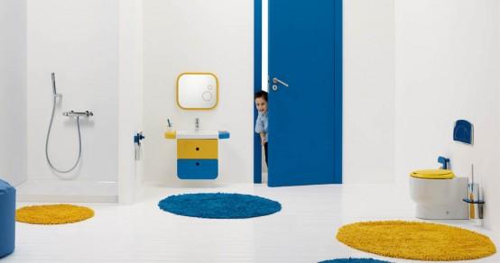 Kúpeľňa - ...a chlapčenská kúpeľňa.