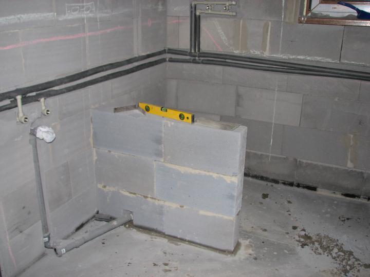 Upravený Bungalow 69 - 26.9.2010 - Sprchový kút.
