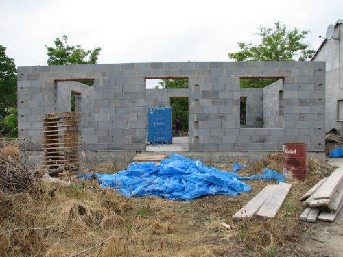 Upravený Bungalow 69 - 06.06.2009 - vchod na terasu