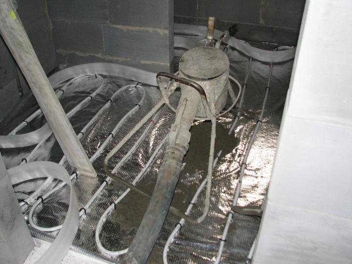 Upravený Bungalow 69 - 4.4.2011 - poter kupelna