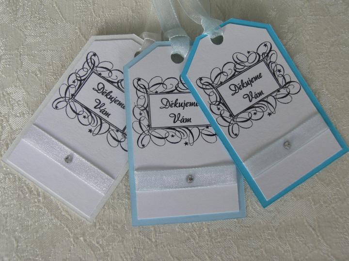 Svatební doplňky v barvě bílo černé - Obrázek č. 21