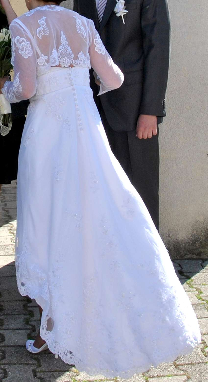 Svadobne šaty Alfred Angelo - Obrázok č. 2