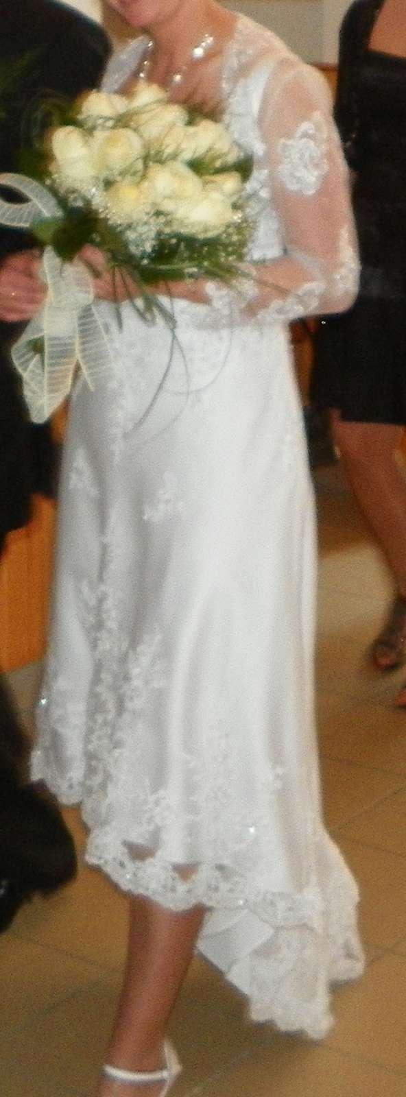 Svadobne šaty Alfred Angelo - Obrázok č. 1
