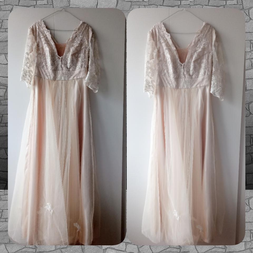 Ivory čipkované šaty - Obrázok č. 3