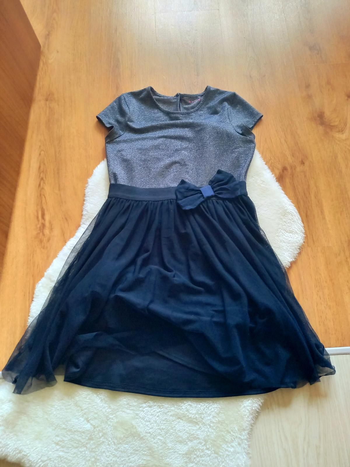 Slávnostné tylové šaty - Obrázok č. 1