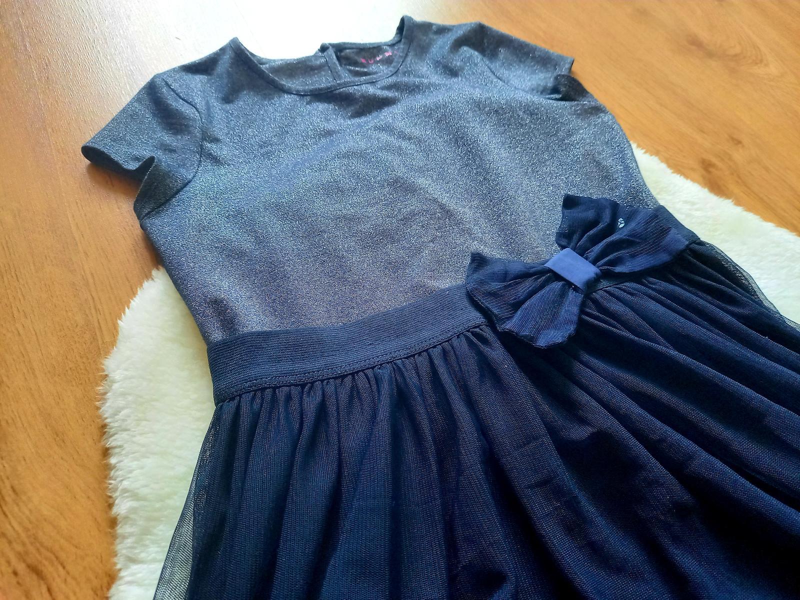 Slávnostné tylové šaty - Obrázok č. 2